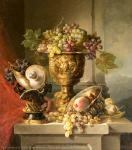 Still Life Painting. Eirich Bruno. Germany. The 1870s. Canvas, oil