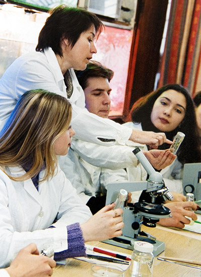 Laboratory research in Omsk State Pedagogical University
