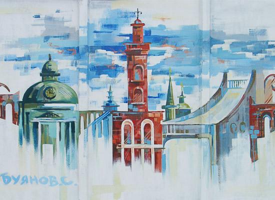 Город омск картинки трафарет
